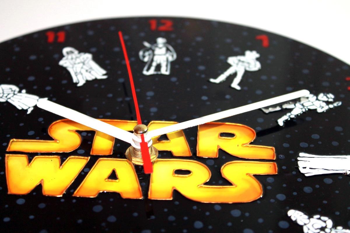 "Wanduhr ""Star Wars"" (d=25) (1) - 1"