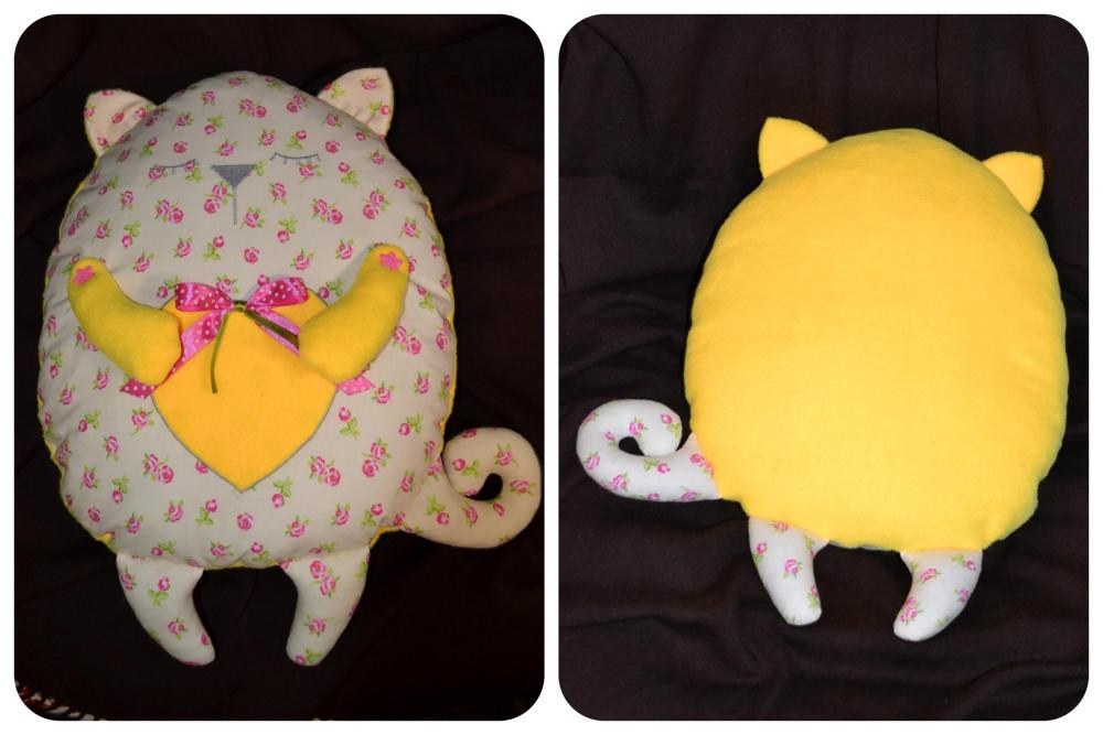 """Schlafkissen """"Katze"""" (1) - 1"""