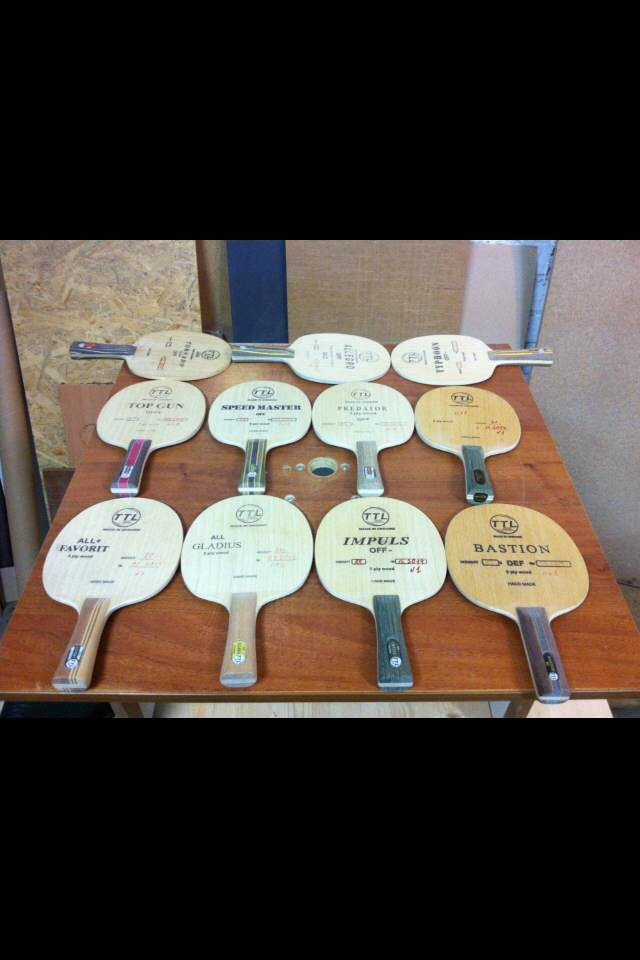 TTL bases for table tennis rackets (1) - 1