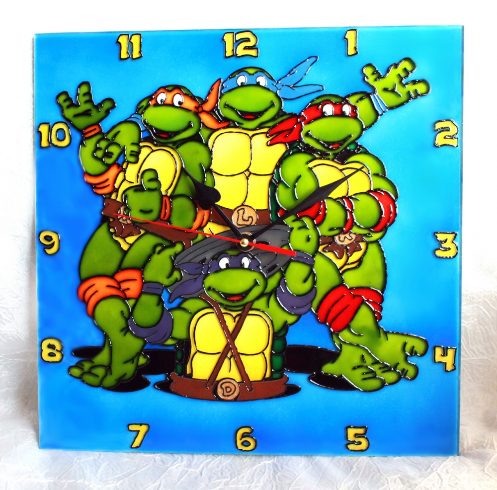 Clock «Ninja Turtles» (d=25) (1) - 548