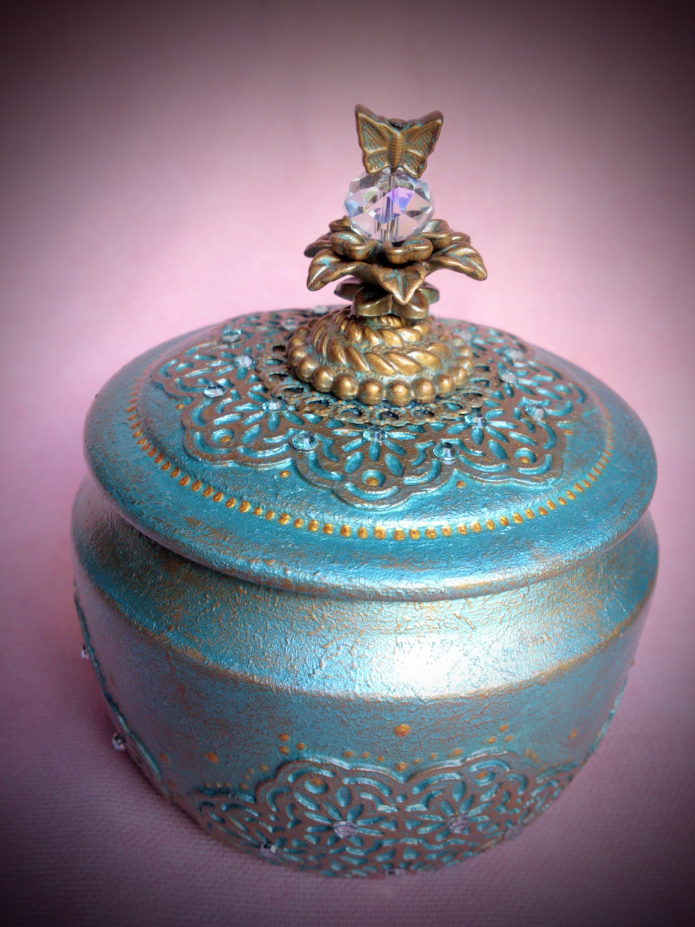 "Jewelry-box ""Butterfly""(1) - 571"
